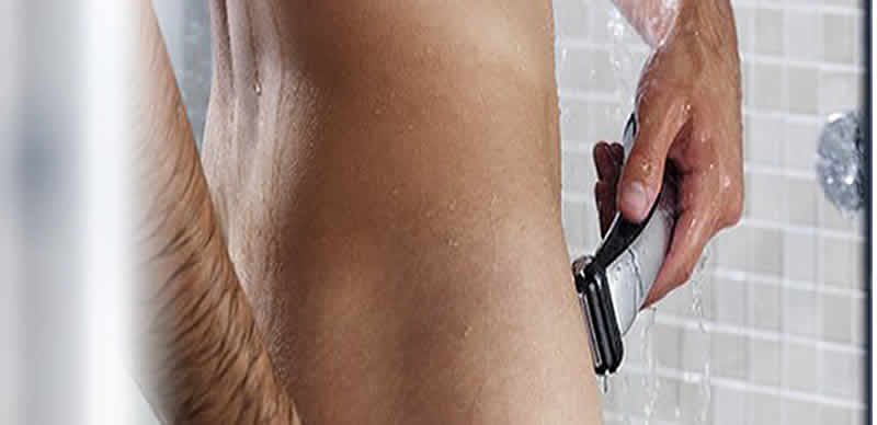 shaving private area